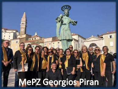 MEŠANI PEVSKI ZBOR GEORGIOS Piran